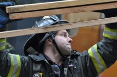Responding to a sinkhole on street Fire Fighters, Rigs, Street, Firemen, Firefighters, Wedges, Walkway, Fire Department