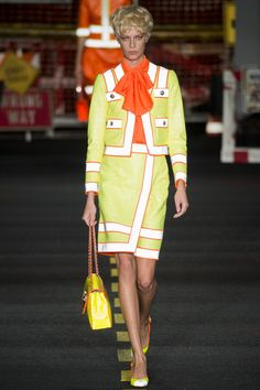 See the Moschino spring/summer 2016 collection. Click through for full gallery at vogue.co.uk