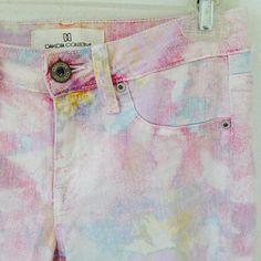BB Dakota Pants - Pastel water painting color pants on Poshmark