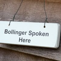 Bollinger sold here sign