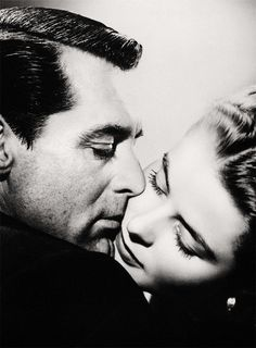 Cary Grant and Ingrid Bergman in Notorious (Hitchcock, 1946)