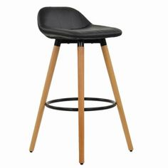 The Kennedy Wooden Bar Stool Black available at Lakeland Furniture! With a huge range of colours. Shop for Stools Now! Bar Chairs, Dining Chairs, Ashley Furniture Chairs, Brown Leather Recliner Chair, Small Swivel Chair, Wooden Bar Stools, Restaurant Seating, Monochrome Color, Small Bars