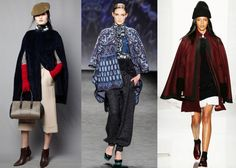 #NYFW Breaking Trends Fall 2014: Capes - Accessories Magazine