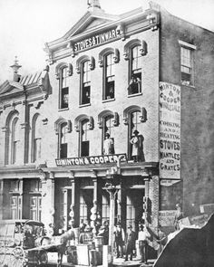 1877 Minton Cooper Stoves & Tinware 22 Market St. ( 2nd Ave.) Nashville, TN