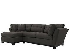 Cindy Crawford Home Metropolis 2-pc. Microfiber Sectional Sofa