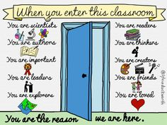 In an #ISTE2015 inspired school  when you enter this classroom ... H/T @zecool @sylviaduckworth    #teach #aussieED