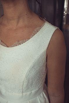 Angela, notre robe demi-mesure, toute en simplicité et avec une fermeture de boutons dans le dos ⭐️ 👗 @kaacouture 📸 @mariageadeux 💄💇🏼♀️ @_r_arts 👰🏼@jessicoccinelle @sophieardouin 💐 @fleuravi.wedding 👠 @chaussure_danse_et_mariage 📍@domainedevavril #robedemariee #robeblanche #robedemarieedemimesure #larobequejeveux #marobedemariee #myweddingdress #weddingdress #couturierefrancaise #robedemarieefaitemain #handmadeweddingdress #frenchsavoirfaire #savoirfairefrancais Arts, Inspiration, White Dress, Dance, Shoe, Weddings, Biblical Inspiration, Inspirational, Inhalation