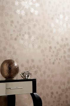 Sparkle Brown Wallpaper by Graham and Brown