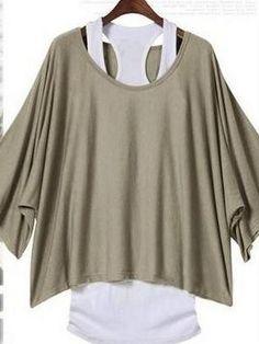 Half Sleeve Cotton T-shirt T-shirts from fashionmia.com