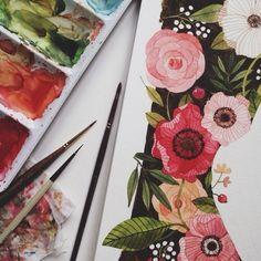 Oana Befort  | oanabefort.com #watercolor