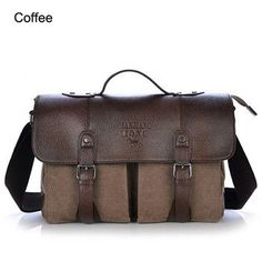 Bolsas Men's Travel Bags Vintage Crossbody Bags For Men office bag Fashion