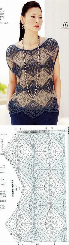 Без заголовка [] # # #Crochet #Blouse, # #Crochet #Skirts, # #Crochet #Clothes, # #Crochet #Tops, # #Crochet #Ideas, # #Crochet #Patterns, # #Shawls, # #Blusas #Crochet, # #Clothes
