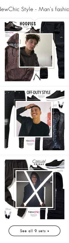"""""""NewChic Style - Man's fashion"""" by mymilla on Polyvore featuring men's fashion, menswear, AFS JEEP, Oliver Peoples, Nico e Oxford"""