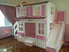 kidsworld.2000@yahoo.com.mx, 01442 690 48 41 Y WHATSAPP 442 323 98 27...PRECIOSA CASITA LITERA PARA NIÑAS #literas #mueblesinfantiles #recamarasparaniñas #mueblesparaniñas #muebles #recamaras #casitas #casita #recamaraspara princesas #rosa #blanco #lunares #princesas #literas #hogar #decoración