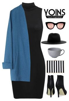 """Yoins 2"" by hungry-unicorn ❤ liked on Polyvore featuring Études, Juliska, Quay, yoins, yoinscollection and loveyoins"