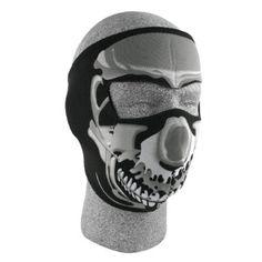 Where can I find ZANheadgear Neoprene Skull Face Mask (Chrome/Black) for  Halloween Gifts Idea Stores for  #Halloween Gifts Idea Sale