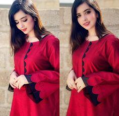 Beautiful Pakistani Dresses, Pakistani Dresses Casual, Pakistani Dress Design, Stylish Dress Book, Stylish Dresses For Girls, Simple Dresses, Casual Dresses, Summer Dresses, Sleeves Designs For Dresses