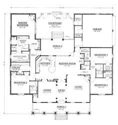 First Floor Plan image of Plan BHG – 5938 ~~3084~~