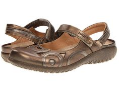 7bafb11410eb Naot footwear rongo brass leather pewter leather