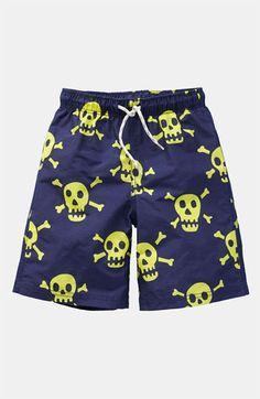 Skull Board Shorts from mini Boden