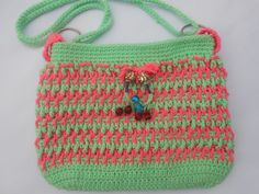 crochet bag, woman purse, crochet shoulder hand made bag, crochet hand made purse,Crochet Fancy,Shoulder,bag/Purse Free pattern with Pic tut by Crochetcrosiahome