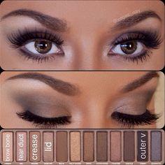 Naked Makeup tutorial