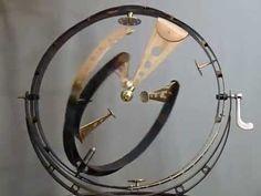 Tourbillon 3 Dimensional  Triple Pendulum