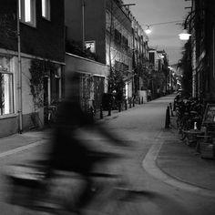 #amsterdam #nights #netherlands #watch out for the #bicycles by #leica #photographer #thorstenovergaard (view on Instagram http://ift.tt/2gXin8O)