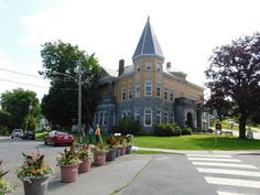 """The Haskell Free Library and Opera House has two different addresses. If you are American, you'll say the library is located at """"93 Caswell ..."""