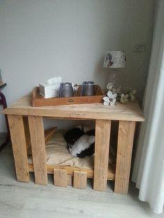 Een bench maken van pallethout