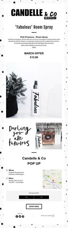 'Fabulous' Room Spray