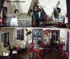 Haunted Dollhouse Interior Www Picturesboss Com