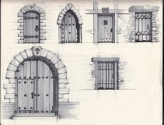 paintings of doors | Posted by Peter Coene at 1:52 PM