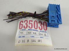 1992-2002 BMW Z3 3 Series Windshield Washer Control Unit Wire 45 61358366381 E36/7