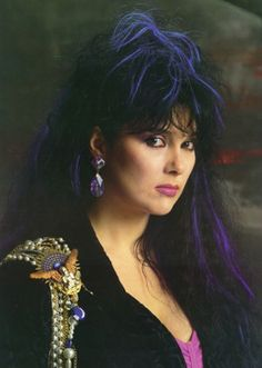 Ann Wilson. She can wail. They were my first favorite band, when I was like 2 years old