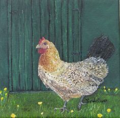 Buttercup Betty by Linda Clark 2nd in Keeping Chicken Series