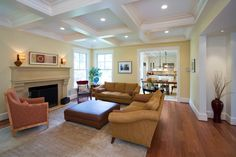Georgetown Development traditional family room