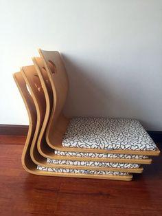 (4pcs/lot)Japanese Tatami Zaisu Chair for Living Room Furniture Natural Color Fan Shape Kotatsu Table Chair Tatami Legless Zaisu