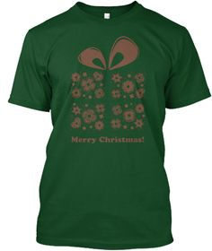 Gift Tshirt For Christmas Deep Forest T-Shirt Front