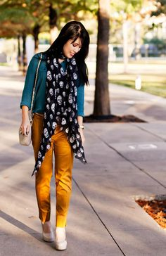 Awesome color combination via Cute and Little | Go Chic or Go Home