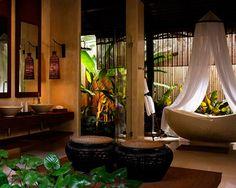 bathroom or jungle oasis?? amazing!