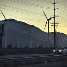 Palm Springs Windmills - Raphael Love Social Media Mentor and Speaker Morning Has Broken, Morning Greeting, Palm Springs, Wind Turbine, Social Media, Windmills, Awesome, Places, Transportation