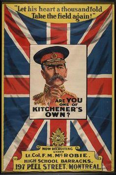 CDN Recruitment Poster  WWI