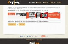 2Zip: descomprime y convierte ficheros ZIP de forma online