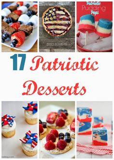 diy memorial day desserts