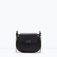ZARA - COLLECTION SS15 - SHOULDER BAG WITH GUSSET