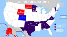 Last night's Super Tuesday results proved very favorable for Donald Trump on the Republican side, and Hillary Clinton on the Democratic side. As The Washington Post reports, Hil…