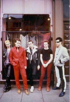 The Perfectors, late 70s New Wave fashion