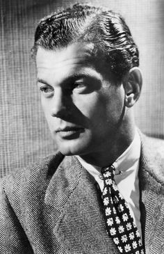 "Joseph Cotten (1905 - 1994) Actor with major roles in ""Citizen Kane"", ""The Third Man"", ""Soylent Green"" and other movies"