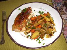 Roast Chicken Recipe with Meyer Lemon and Rosemary ~ strandedfoodie.com
